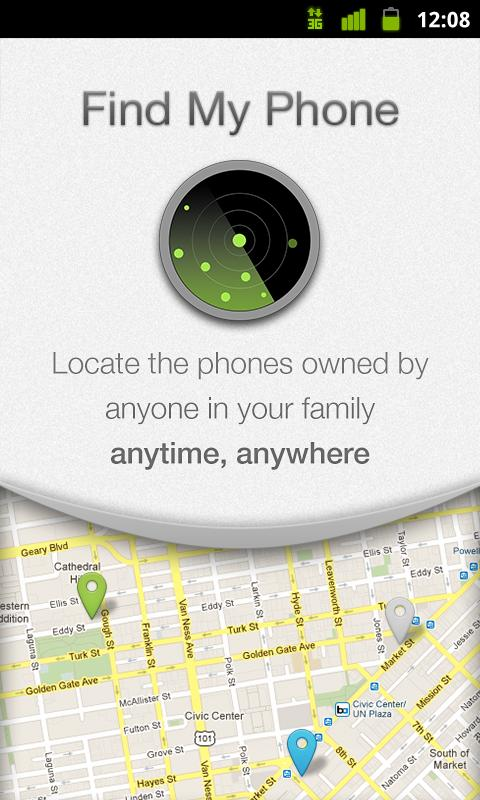 Android find my phone app