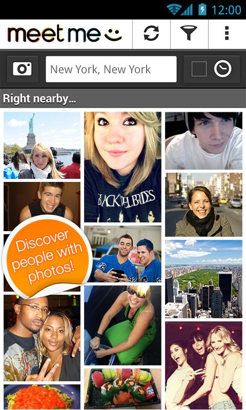 Social Android Application - MeetMe - Meet New People